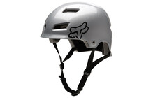 FOX Transition Hard Shell Casque Argent